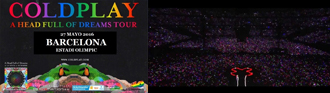 Coldplay, Barcelona & Manchester