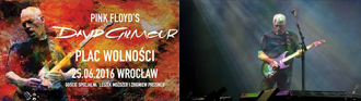 David Gilmour, live in Wroclaw